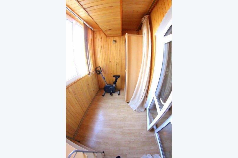3-комн. квартира, 80 кв.м. на 6 человек, улица Бирюзова, 2А, Судак - Фотография 12