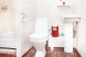 Двухместный номер с двуспальной кроватью (Double) и отдельными туалетом и душевой кабиной:  Номер, Люкс, 4-местный (2 основных + 2 доп), 1-комнатный - Фотография 42