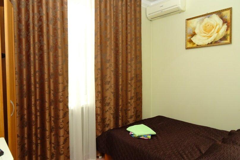 """Двухместный номер """"комфорт"""" с одной кроватью, улица Чкалова, 3В, Адлер - Фотография 1"""