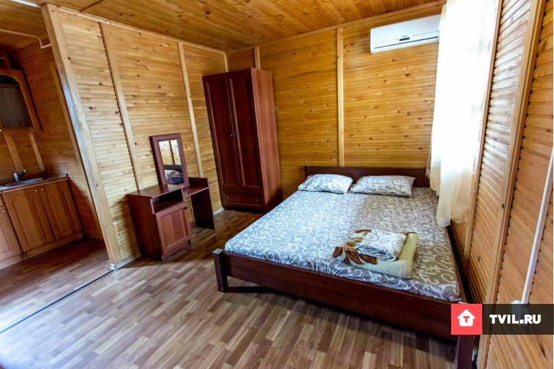 3х-местный в коттедже из сруба ❤️, улица Академика Сахарова, 4, район Ачиклар, Судак - Фотография 1