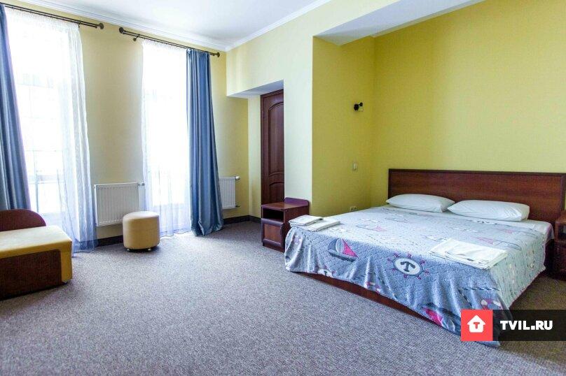 Люкс 2х комнатный семейный, 5-ти местный + 1 доп. место. , Адмиральская улица, 12, Судак - Фотография 2