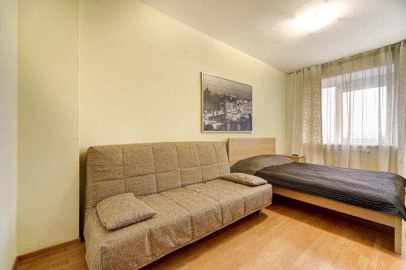 1-комн. квартира, 40 кв.м. на 4 человека, Коломяжский проспект, 15к1, Санкт-Петербург - Фотография 4
