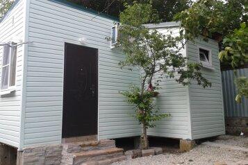 Дом двухкомнатный, 25 кв.м. на 5 человек, 2 спальни, улица Луначарского, 134, Геленджик - Фотография 1