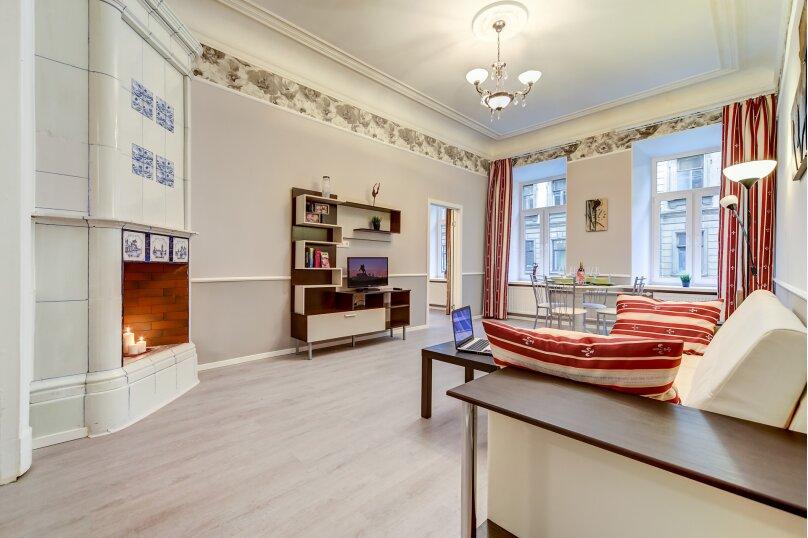 3-комн. квартира, 82 кв.м. на 6 человек, Загородный проспект, 21-23, Санкт-Петербург - Фотография 2