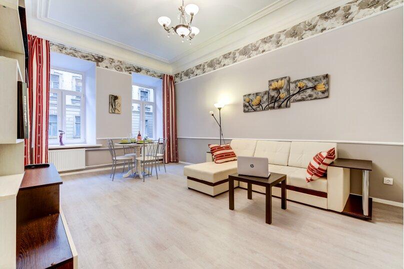 3-комн. квартира, 82 кв.м. на 6 человек, Загородный проспект, 21-23, Санкт-Петербург - Фотография 3