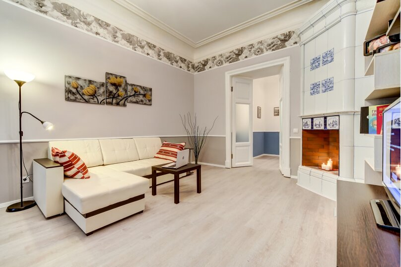 3-комн. квартира, 82 кв.м. на 6 человек, Загородный проспект, 21-23, Санкт-Петербург - Фотография 4