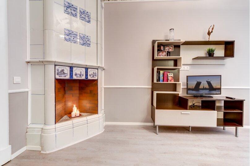 3-комн. квартира, 82 кв.м. на 6 человек, Загородный проспект, 21-23, Санкт-Петербург - Фотография 14