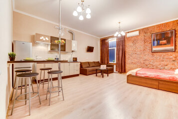 1-комн. квартира, 45 кв.м. на 4 человека, Пушкинская улица, Санкт-Петербург - Фотография 1