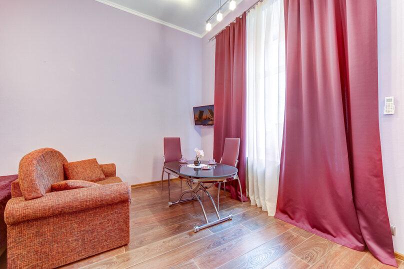 1-комн. квартира, 30 кв.м. на 3 человека, Миллионная улица, 21, Санкт-Петербург - Фотография 9