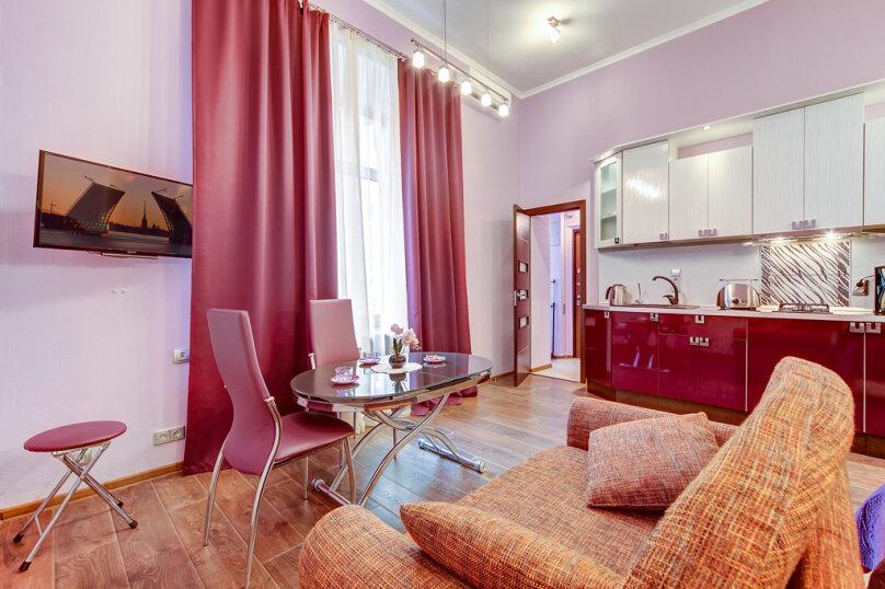 1-комн. квартира, 30 кв.м. на 3 человека, Миллионная улица, 21, Санкт-Петербург - Фотография 14