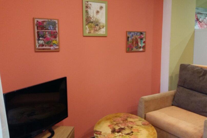 1-комн. квартира, 25 кв.м. на 3 человека, Приморская улица, 11А, Алупка - Фотография 1