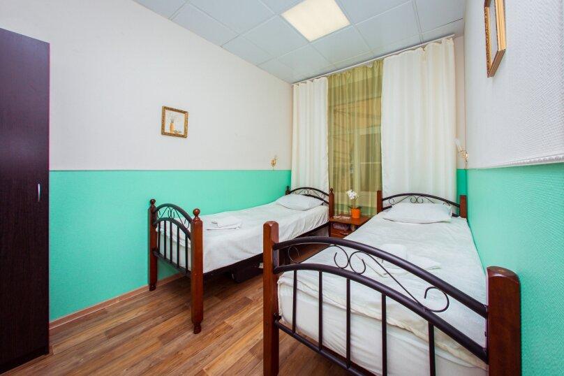 Номер с двумя раздельными кроватями, Итальянская улица, 12А, Санкт-Петербург - Фотография 1