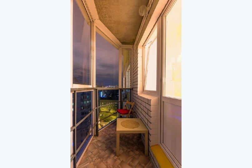 1-комн. квартира, 42 кв.м. на 4 человека, 45 Стрелковой дивизии, 108, Воронеж - Фотография 14