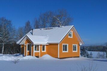 Дом, 130 кв.м. на 6 человек, 2 спальни, Мартнаволокский берег озера Пертозеро, стр. 1, Кондопога - Фотография 3