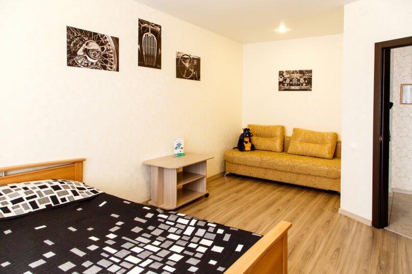 1-комн. квартира, 36 кв.м. на 3 человека, Строительный переулок, 8, Иркутск - Фотография 1