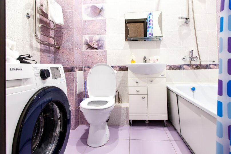 1-комн. квартира, 36 кв.м. на 3 человека, Строительный переулок, 8, Иркутск - Фотография 11