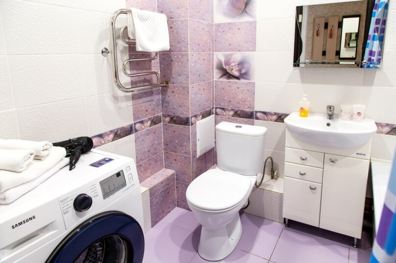 1-комн. квартира, 36 кв.м. на 3 человека, Строительный переулок, 8, Иркутск - Фотография 12