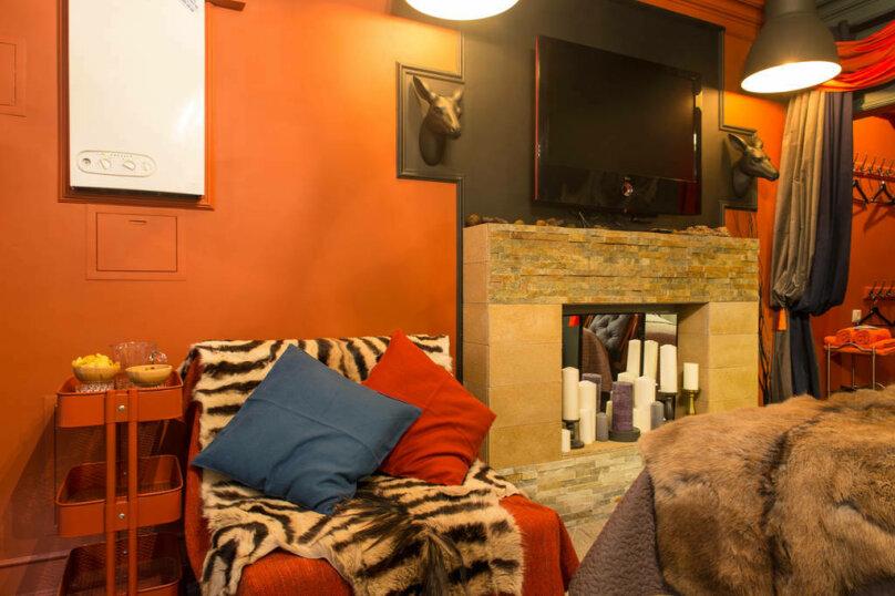 1-комн. квартира, 20 кв.м. на 3 человека, Берёзовая улица, 106, Эстосадок, Красная Поляна - Фотография 9