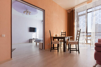 1-комн. квартира, 59 кв.м. на 5 человек, проспект Альберта Камалеева, Казань - Фотография 4