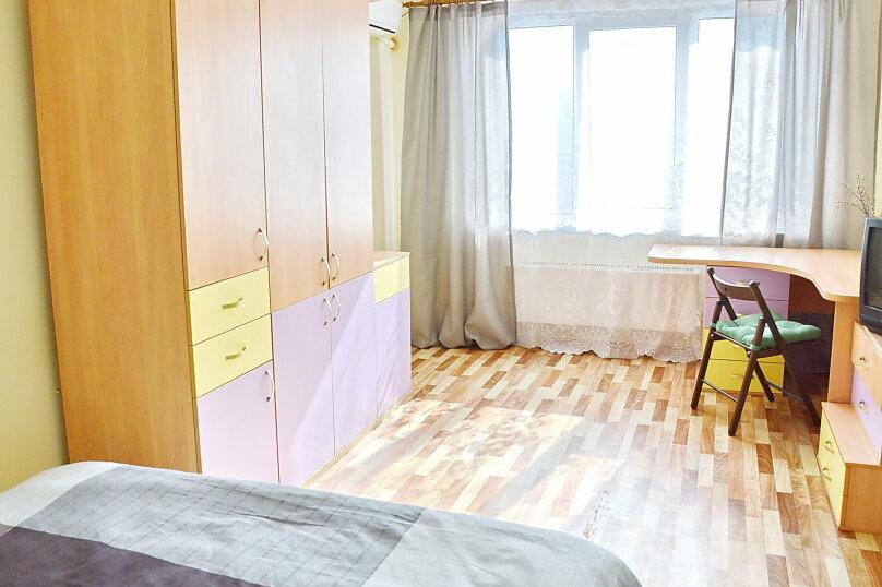 1-комн. квартира, 40 кв.м. на 3 человека, Зиповская улица, 37, Краснодар - Фотография 1