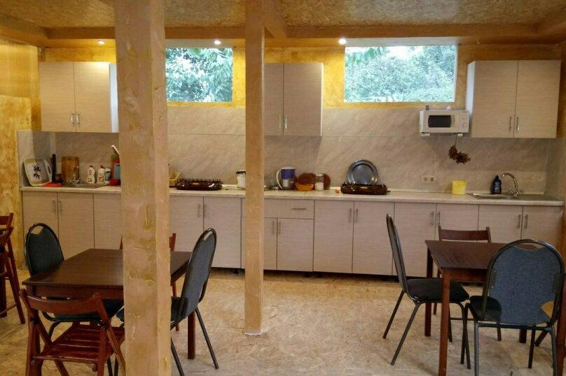 Домик Люкс 4-х мест 2-х комнатный с кухней, 35 кв.м. на 4 человека, 2 спальни, Енисейская улица, 4, Лоо - Фотография 16