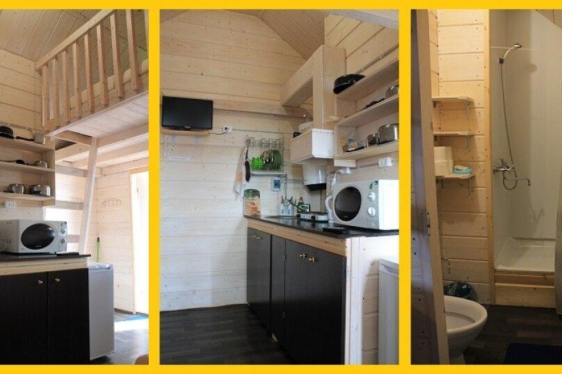 Дом, 24 кв.м. на 4 человека, 1 спальня, Янишполе, Мережнаволок, Кондопога - Фотография 22