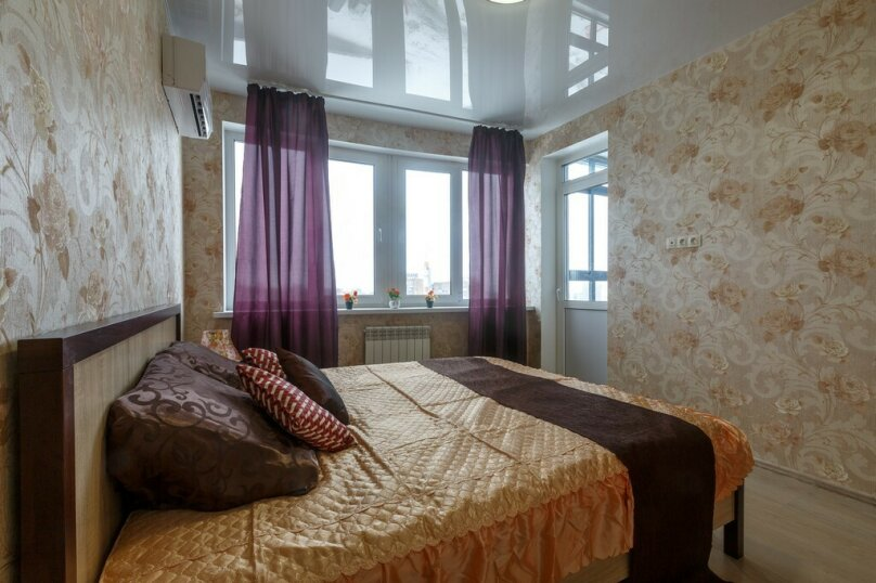 1-комн. квартира, 55 кв.м. на 4 человека, улица Луначарского, 5, Самара - Фотография 5