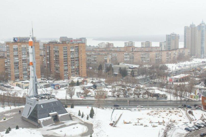 1-комн. квартира, 55 кв.м. на 4 человека, улица Луначарского, 5, Самара - Фотография 13