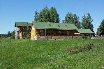 Дом с баней на Волге под Угличем (таун хаус на 6 человек), 90 кв.м. на 6 человек, 3 спальни, Николякино, 3, Углич - Фотография 1