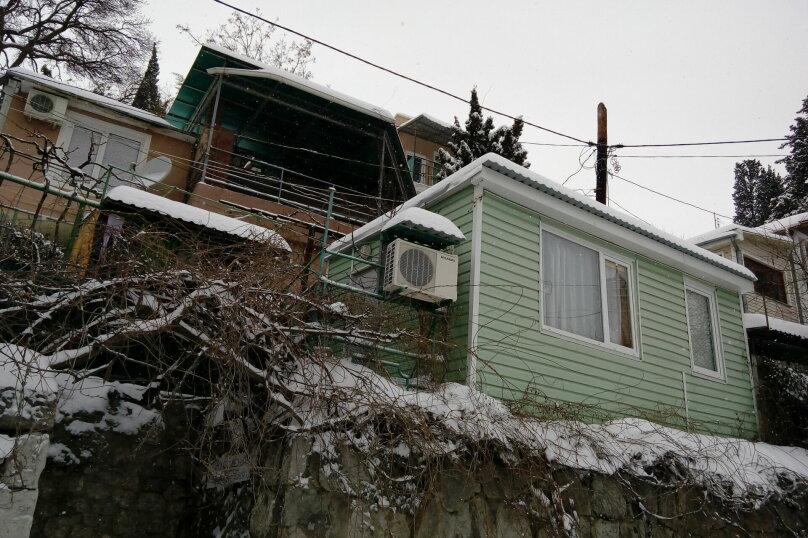 Домик с видом на море, 18 кв.м. на 3 человека, 1 спальня, Ялтинская, 18, Алупка - Фотография 11