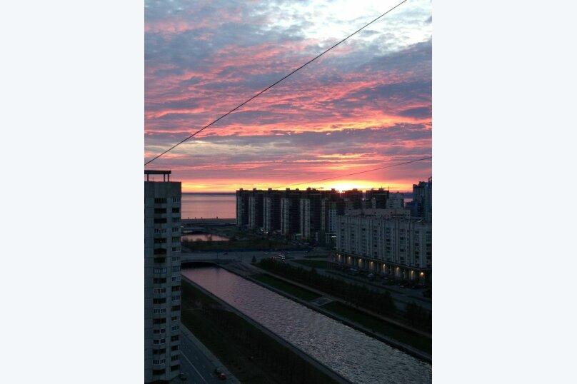 2-комн. квартира, 55 кв.м. на 3 человека, Новосмоленская набережная, 4, метро Приморская, Санкт-Петербург - Фотография 12