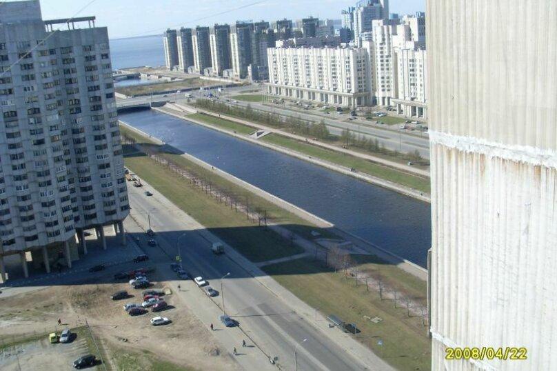 2-комн. квартира, 55 кв.м. на 3 человека, Новосмоленская набережная, 4, метро Приморская, Санкт-Петербург - Фотография 13