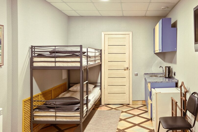 номер с двухъярусной кроватью в мотеле  - без завтрака!, Московское шоссе, 23км, 30, Самара - Фотография 1