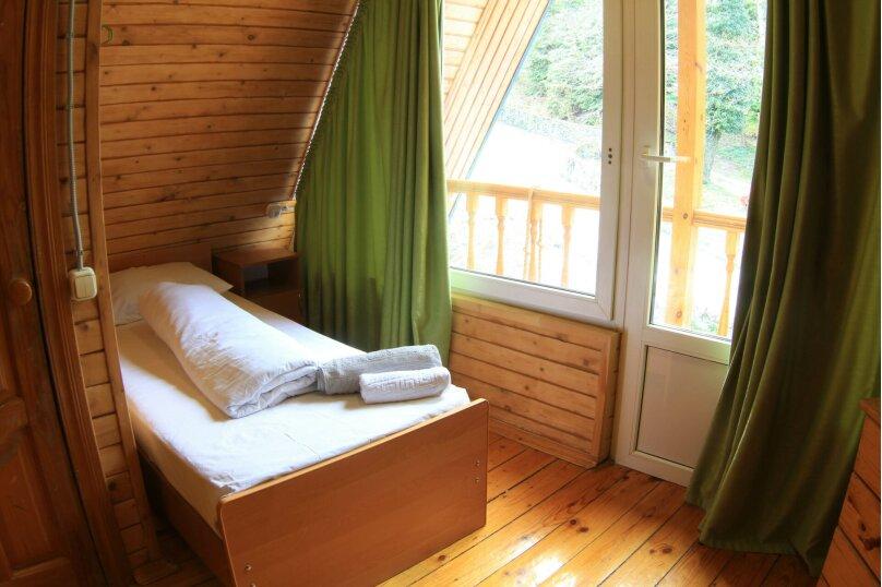 Двухместный номер с 2 раздельными кроватями, улица Пчеловодов, 59, Красная Поляна - Фотография 3