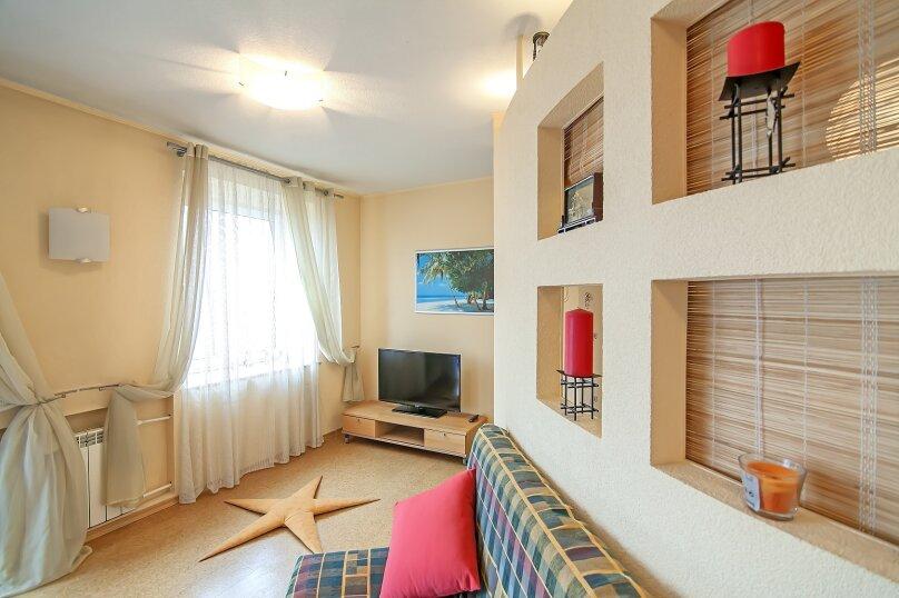 2-комн. квартира, 50 кв.м. на 4 человека, Пушкинская улица, 15, Зарека район, Петрозаводск - Фотография 9