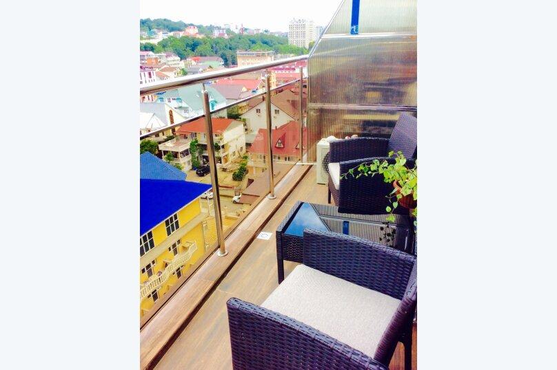 1-комн. квартира, 40 кв.м. на 3 человека, улица Просвещения, 148, Адлер - Фотография 10