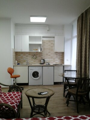 1-комн. квартира, 25 кв.м. на 3 человека