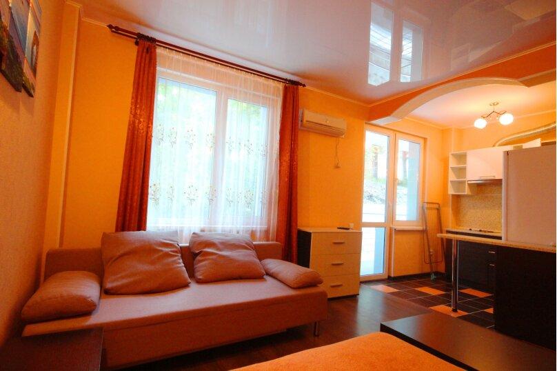 1-комн. квартира, 28 кв.м. на 4 человека, Звездный квартал, 11, Ольгинка - Фотография 14