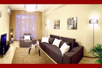 2-комн. квартира, 75 кв.м. на 4 человека, улица Павла Дыбенко, Севастополь - Фотография 1