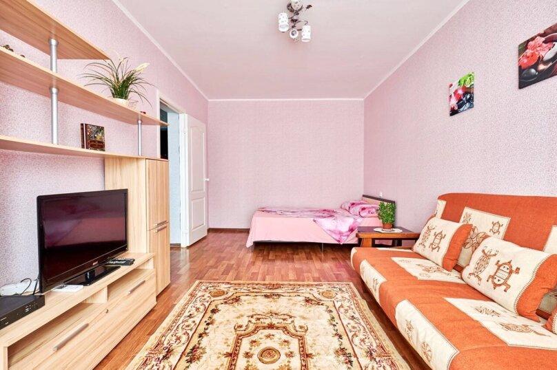 1-комн. квартира, 42 кв.м. на 5 человек, улица Котлярова, 17, Краснодар - Фотография 1