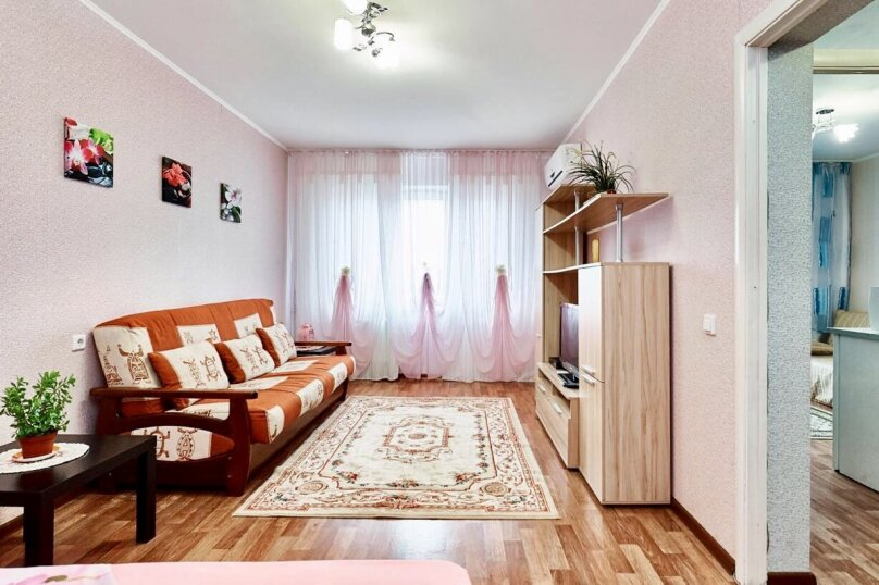 1-комн. квартира, 42 кв.м. на 5 человек, улица Котлярова, 17, Краснодар - Фотография 4