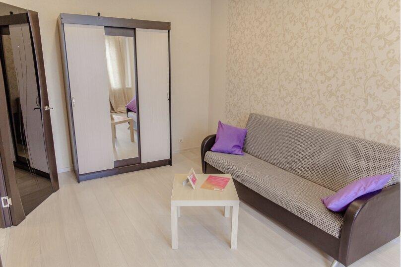 2-комн. квартира, 60 кв.м. на 4 человека, проспект Ленина, 15, Петрозаводск - Фотография 5