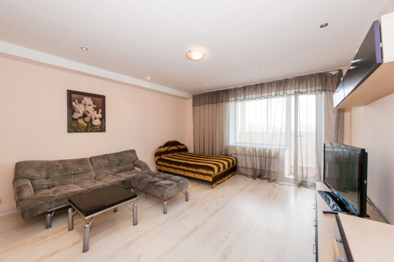1-комн. квартира, 60 кв.м. на 4 человека, улица Галущака, 3, метро Гагаринская, Новосибирск - Фотография 4
