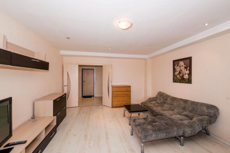 1-комн. квартира, 60 кв.м. на 4 человека, улица Галущака, 3, метро Гагаринская, Новосибирск - Фотография 5