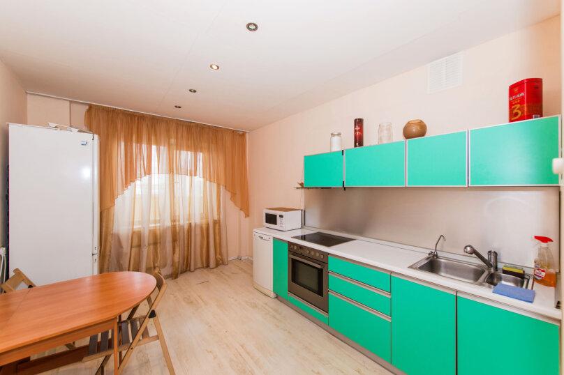 1-комн. квартира, 60 кв.м. на 4 человека, улица Галущака, 3, метро Гагаринская, Новосибирск - Фотография 21