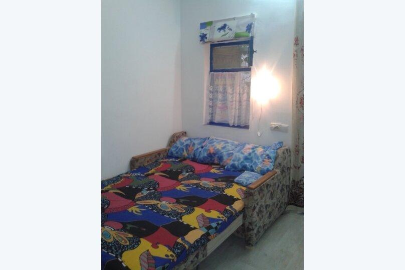 Домик для двоих рядом с Кипарисовой аллеей, 16 кв.м. на 2 человека, 1 спальня, Санаторный переулок, 13А, Судак - Фотография 4