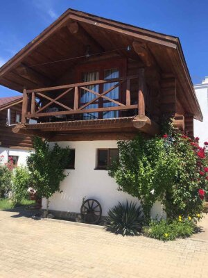 Деревянный коттедж 1 на 5 человек, 1 спальня, Чайка-3, 4, посёлок Орловка, Севастополь - Фотография 1