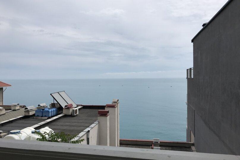 Номер с балконом и видом на море (3 этаж), улица Гагариной, 273, Утес - Фотография 9