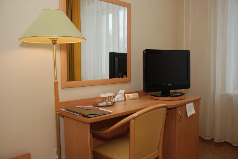 Стандартный двухместный номер с 1 кроватью или  2 раздельными кроватями, Президентский бульвар, 13, Чебоксары - Фотография 2