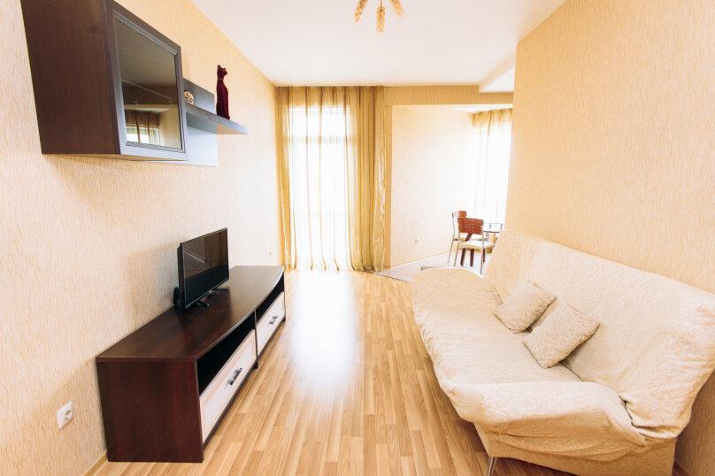 2-комн. квартира, 60 кв.м. на 4 человека, Кузнечная улица, 79, Екатеринбург - Фотография 2
